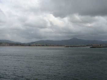 Platja i port d'Hondarribia