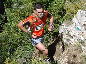 Jessed Hernàndez, guanyador de la Marató